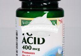 ACID FOLIC 400mcg 50tb N.B. WALMARK Tratament naturist mentinerea sanatatii sistemului circulator poate ajuta organismul nostru sa ramana sanatos si rezistent infertilitate acid folic