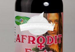 AFRODIT TINCTURA 100ml SANTO RAPHAEL Tratament naturist afrodisiac feminin afrodisiac cresterea libidoului frigiditate