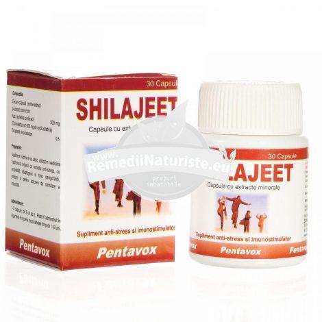 SHILAJEET 30cps PENTAVOX SANPRODMED Tratament naturist antistres afrodisiac stres tonic general