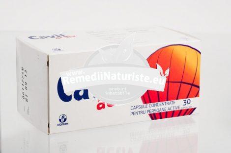 CAVIT ACTIV 30cps BIOFARM Tratament naturist ofera necesarul zilnic de vitamine alimentatie dezechilibrata absorbtie deficitara de vitamine convalescenta