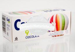 CAVIT 9 PLUS CIOCOLATA 20tb masticabile BIOFARM Tratament naturist alimentatie dezechilibrata oboseala scaderea atentiei concentrare