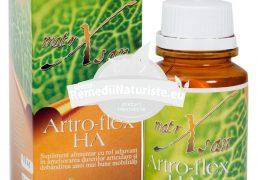 ARTRO-FLEX HA 60cps HYPERICUM Tratament naturist amelioreaza durerile articulare analgezic antinflamator reumatism