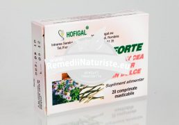 HOFIMUN FORTE 20cpr HOFIGAL Tratament naturist infectiuni acute si cronice ale cailor respiratorii angine laringita faringita