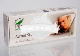 ALCOOL STOP 30cps BLISTER MEDICA Tratament naturist cura de dezintoxicare alcoolica antialcool hepatoprotector ficat