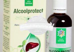 ALCOOLPROTECT 50ml SANTO RAPHAEL Tratament naturist eliminarea efectelor negative ale alcoolului antialcool hepatoprotector ficat