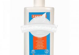 APA DE GURA FAVI-FRESH CU PROPOLIS 250ml FAVISAN Tratament naturist dezinfectant al cavitatii bucale anticarie placa bacteriana miros neplacut al respiratiei