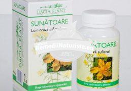 SUNATOARE 60cpr DACIA PLANT Tratament naturist depresie stres antidepresiv antilitiazic