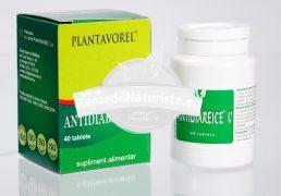 ANTIDIAREICE V 40cps PLANTAVOREL Tratament naturist diaree indigestii tulburari gastro-intestinale antidiareic
