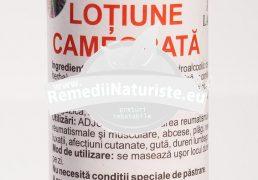 AUR DERM LOTIUNE CAMFORATA 100ml LAURMED Tratament naturist reumatism entorse spasme musculare dureri nevralgice