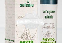 CAT'S CLAW & SELENIU 30cps MEDICA Tratament naturist antiinflamator imunostimulator gripa infectii virale si bacteriene