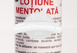 AUR DERM LOTIUNE MENTOLATA 100ml LAURMED Tratament naturist reumatism entorse spasme musculare dureri nevralgice