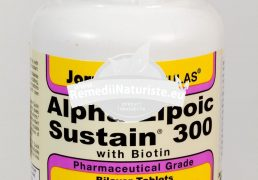 ALPHA LIPOIC SUSTAIN 300mg 30tb SECOM Tratament naturist antioxidant imunostimulator tonic hepatic imunitate scazuta
