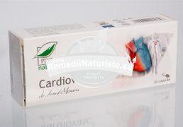 CARDIOVASC 30cps blister MEDICA Tratament naturist hipertensiune arteriala cardiopatie ischemica antioxidant normalizeaza ritmul cardiac