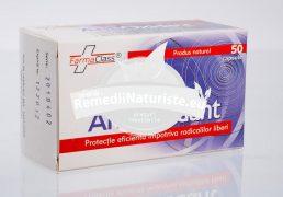 ANTIOXIDANT 50cps FARMACLASS Tratament naturist protectie eficienta impotriva radicalilor liberi antioxidant previne imbatranirea mentine elasticitatea pielii