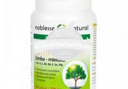 ANTIOXIDANT 30cps NOBLESSE NATURAL Tratament naturist stimuleaza imunitatea revitalizeaza pielea mentine echilibrul hormonal antioxidant
