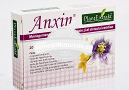 ANXIN 20cps PLANTMED Tratament naturist stari de anxietate contra stresului cotidian anxietate agitatie
