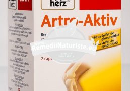 ARTRO AKTIV 60cps DOPPEL HERZ Tratament naturist regenereaza si intareste cartilagiile articulare articulatii oase cartilagii