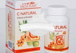 C NATURAL (CATINA&AMALAKI)60cpr DACIA PLANT Tratament naturist antiastenic vitaminizant antistres imunostimulent