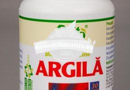 ARGILA ENERGY LINE 700mg 30cps ROTTA NATURA Tratament naturist astenie migeena pareza gastrita