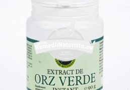 EXTRACT ORZ VERDE INSTANT 90gr HYPERICUM Tratament naturist antioxidant regleaza metabolismul cardiac si nervos imunitate