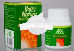 ANGHINARE 30cps ROTTA NATURA Tratament naturist hepatite cronice constipatii bila ficat
