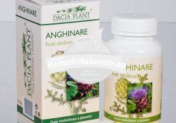 ANGHINARE 60cpr DACIA PLANT Tratament naturist ficat sanatos bila ficat colesterol