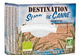 ZAHAR CUBIC NERAFINAT DIN TRESTIE DE ZAHAR DESTINATION BIO 500g MDS Tratament naturist bio