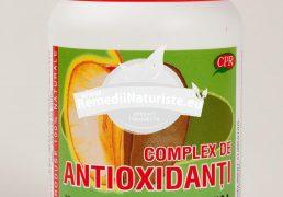 COMPLEX ANTIOXIDANT 30cps COSMOPHARM Tratament naturist boli cronice cardio-vasculare cerebrale boli cronice cardiovasculare, cerebrale si degenerative tulburari coronariene