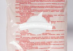 SARE BAZNA 900g TRANS ROM Tratament naturist reumatism boli si afectiuni reumatismale cu caracter inflamator cronic poliartrita reumatoida spondiloza