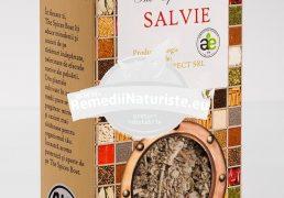 CONDIMENT-SALVIE 20g LONGEVITA Tratament naturist aliment ecologic pentru o dieta sanatoasa bronsita astm rinita