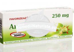 ANGHINARE 250mg 20cpr BLISTER REMEDIA Tratament naturist dischizenie biliara insuficienta biliara hepatite calculi biliari
