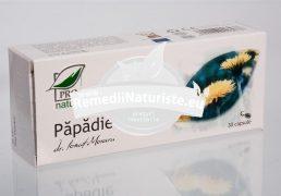 PAPADIE 30cps blister MEDICA Tratament naturist litiaza renala insuficienta renala calculi renali tract urinar