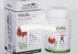 VISUAL 60cpr DACIA PLANT Tratament naturist tonic al vederii cecitate nocturna si diurna retinita pigmentara glaucom