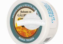 BALSAM GALBENELE+PROPOLIS 30gr QUANTUM PHARM Tratament naturist arsuri degeraturi mastite hemoroizi