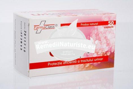 URISEPT 50cps FARMACLASS Tratament naturist protectia tractului urinar cistita anexita microlitiaza renala