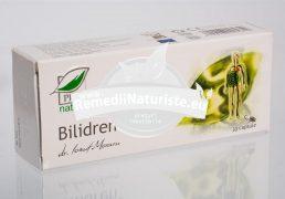 BILIDREN 30cps BLISTER MEDICA Tratament naturist dischizenie biliara microlitiaza biliara coleretic colecistokinetic
