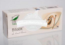 BILOLIT 30cps BLISTER MEDICA Tratament naturist dischizenie biliara microlitiaza biliara coleretic colecistokinetic