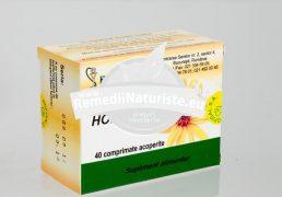 HOF LIPOMIN 40tb HOFIGAL Tratament naturist colesterol scaderea trigliceridelor regleza raportul dintre hdl/ldl ateroscleroza