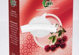 CEAI COZI CIRESE 50gr LARIX Tratament naturist infectii renale litiaze renale edeme colica renala