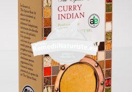 CONDIMENT-CURRY INDIAN 40g LONGEVITA Tratament naturist aliment ecologic pentru o dieta sanatoasa condiment