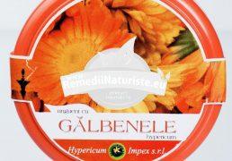 UNGUENT GALBENELE 90ml HYPERICUM Tratament naturist contuzii varice ulcere varicoase degeraturi