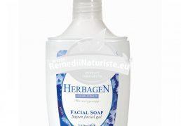 SAPUN LICHID FACIAL 350ml GENMAR Tratament naturist pentru curatirea tenului curatarea tenului antiinflamator asupra ochilor hidratant