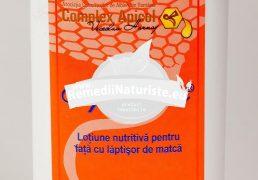 APIDERMIN-LOTIUNE FATA (fost Tenapin) 100ml COMPLEX APICOL Tratament naturist lotiune nutritiva cu laptisor de matca demachiant degresarea tenului mentinerea supletii tenului
