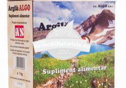 ARGILA 1kg ALGO Tratament naturist furuncule abcese dentare acnee dureri reumatice