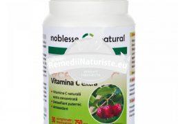 ACEROLA+VIT.C 30cps NOBLESSE NATURAL Tratament naturist antioxidant detoxifiant detoxifiere