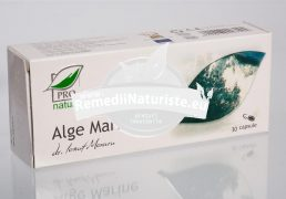 ALGE MARINE 30cps blister MEDICA Tratament naturist hepatita cronica si acuta hipovitaminoza detoxifiere tiroida