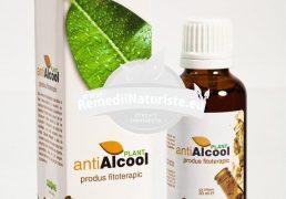 ANTIALCOOL PLANT F-37 30ml OZONE NATURALES Tratament naturist calmeaza dorinta de bauturi alcoolice dezgust fata de alcool arsuri digestive