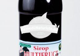 SIROP MULTIFRUCTE HIPOCALORIC 500ml HYPERICUM Tratament naturist vitaminizant mineralizant in diabetui zaharat diabet glicemie crescuta