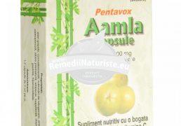 AMLA 30cps PENTAVOX SANPRODMED Tratament naturist afectiuni digestive gastrita stari gripale tuse