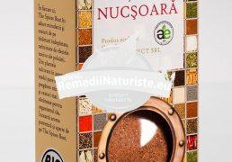 CONDIMENT-NUCSOARA MACINATA 40g LONGEVITA Tratament naturist aliment ecologic pentru o dieta sanatoasa digestie insomnie nevralgie